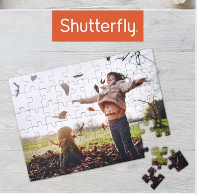 SHUTTERFLY CUSTOMIZED PHOTO PUZZLE KECA Promo Code Expires 10/31 | eBay