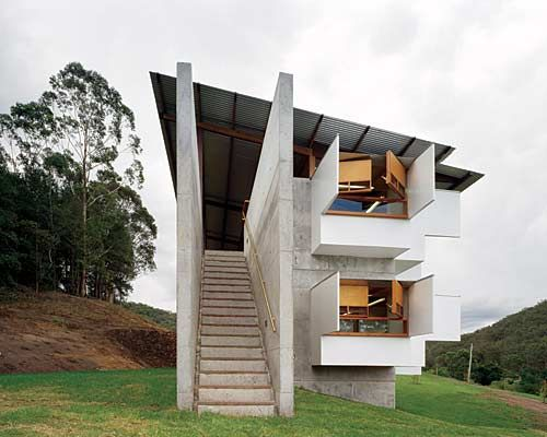 Lerida Estate Winery by Glenn Murcutt: Glenn's design philosophy is one that not only incorporates environmental sensitivity, but also evokes the distinctive features of the landscape. Description from pinterest.com. I searched for this on bing.com/images
