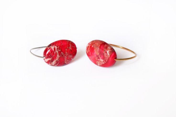 bague pierre de jaspe rose via Les bijoux de Juliette . Click on the image to see more!