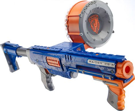 nerf rader | Nerf Raider CS-35 Review