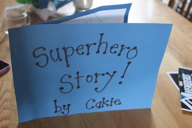Super-Hero Writing Prompt! - The Imagination Tree