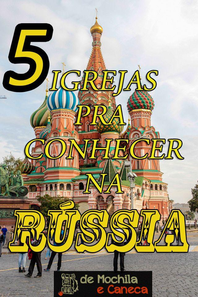 Conhecer a Rússia foi uma das experiências mais incríveis que já tivemos. O pitoresco país é repleto de história e possui uma arquitetura incrível e imponente. Dentre suas belezas arquitetônicas destacam-se as igrejas ortodoxas, muitas delas mundialmente famosas. Se você está pensando em visitar o país do tio Putin, fique ligado! Neste post nós vamos mostrar 5 igrejas para conhecer na Rússia. #RUSSIA #igrejas #moscou #sãopetersburgo #church