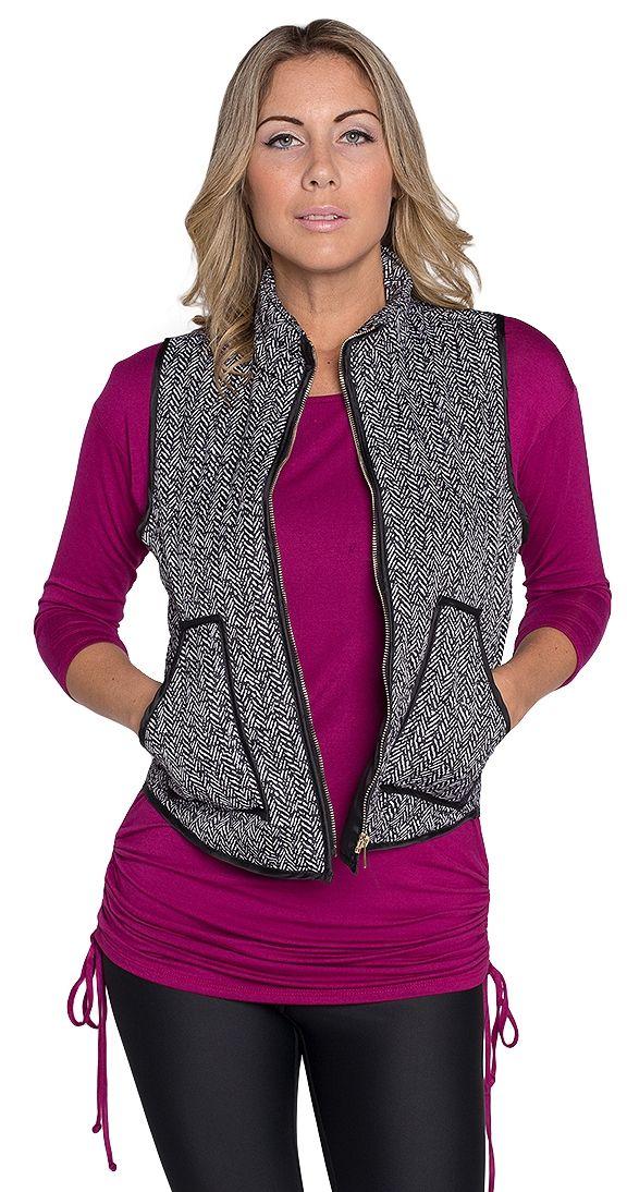 Bad to the Herringbone Vest shop here : http://www.silvericing.com/kfm