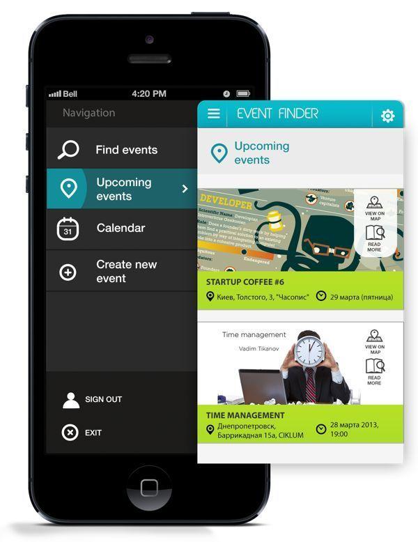 Inspiration mobile #2 : Menu et système de navigation - webdesign