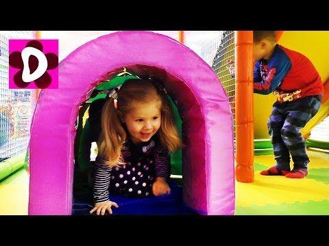 Влог Первый раз на Банджо Батуте Детская Игровая Комната Kids Indoor Playground Fun Play Place    {{AutoHashTags}}