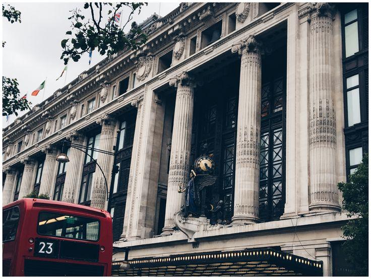 JUNE GOLD | Travel Diary London - Oxford Street, Selfridges