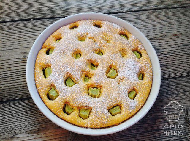 Mi fai un muffin?: TORTA AL RABARBARO (in pezzi) E SCORZETTE D'ARANCIA
