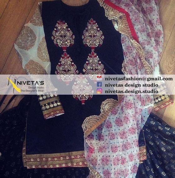 whatsapp +917696015451Email:- nivetasfashion@gmail.compunjabi suit -  punjabi suits - suits- chooridar suit - Patiala Suit - patiala salwar suits - punjabi salwar suit @nivetasHaute spot for Indian Outfits. Indian fashion meets bespoke Indian couture.  We now ship world wide
