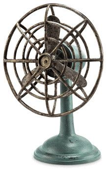 Grandmas Fan w/ Bluetooth Speaker rustic-home-electronics