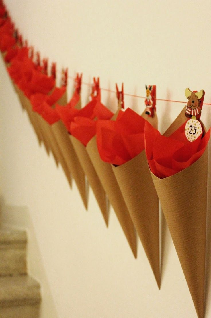 A casa                : Calendario dell'Avvento. Diy