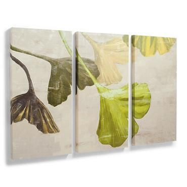 Set of Three Ginkgo Artwork