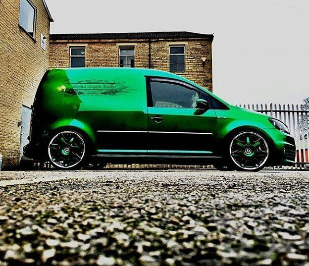 @bishop_mk3 Sent Us A Pic Of The Work Van @impactbodyshop #ModifiedVans #VW #VolksWagen #VeeDub #VDUB #Caddy #Caddy2K GO FOLLOW @bishop_mk3 & @impactbodyshop by modifiedvans