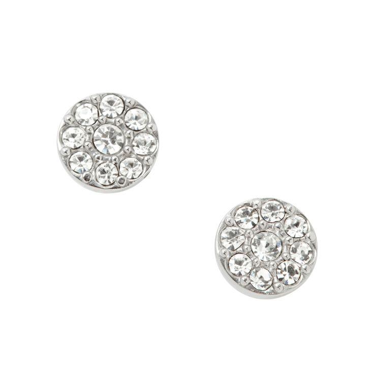 Orecchini Glitz con cristalli #FOSSIL Jewels - #ororagioiellerie