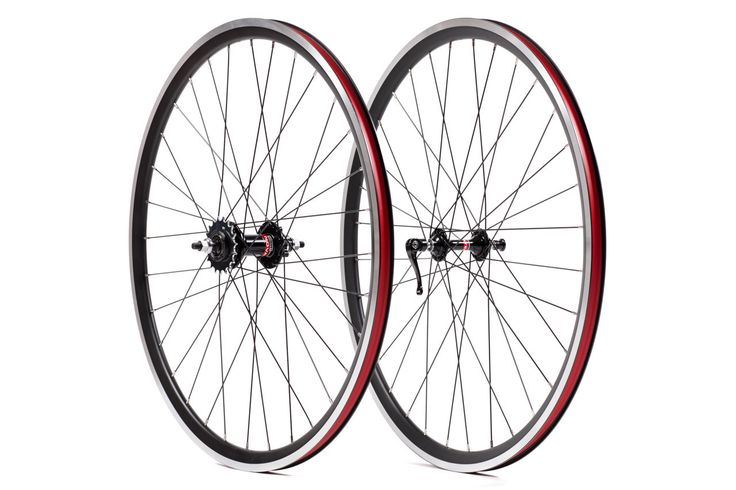 State Bicycle Co. Cyclocross Single Speed Wheelset Front/Rear Black