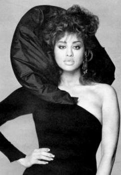 This woman was just absolutely stunning. I 'feel' so much when ever I look at her pictures.  Phyllis Hyman....and her voice...I miss her