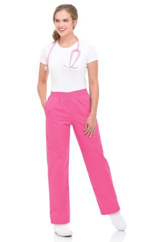 Relaxed Pant - with Full cut through hip, thigh and leg.