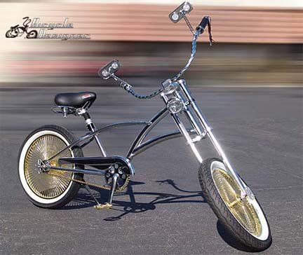 Bike Parts to make bicycles look good. Custom bicycles and custom ...