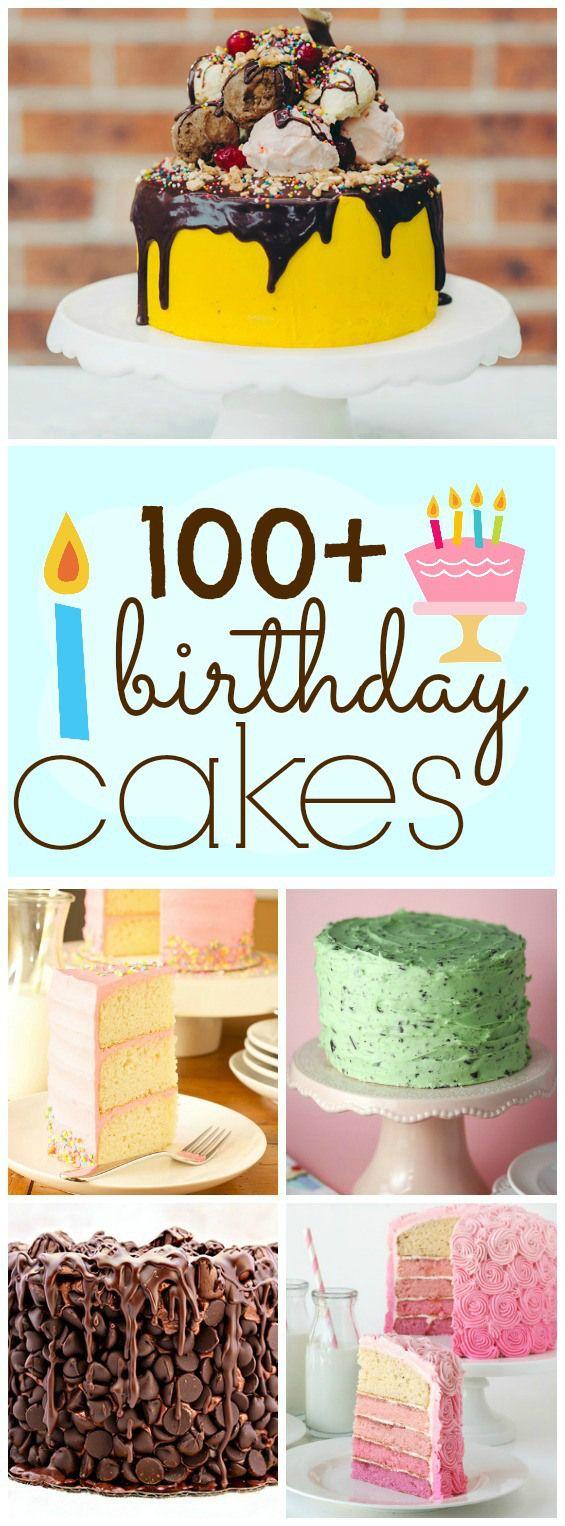 100+ Yummy Birthday Cake Ideas | www.somethingswanky.com