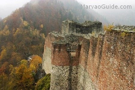 Poenari Castle - Dracula's real castle