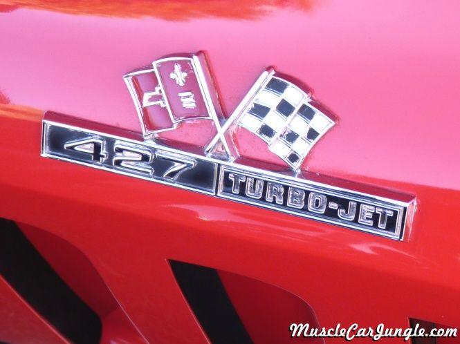 1966 Corvette 427 Emblem Cars Corvette Chevrolet Chevrolet
