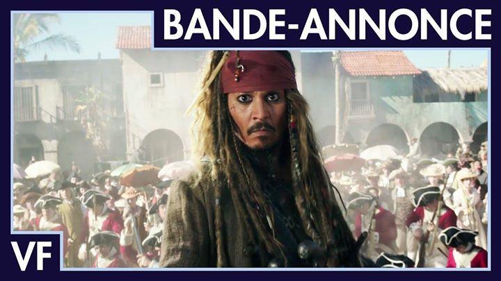 Pirates des Caraïbes : La Vengeance de Salazar - Nouvelle bande-annonce (VF)  https://www.youtube.com/watch?v=D8_6fSXPJr4      #Youtube #Video #Buzz #Actu #Videos #Vid #Clip #Film #Trailer #Teaser #Web #Serie #Music #MP4