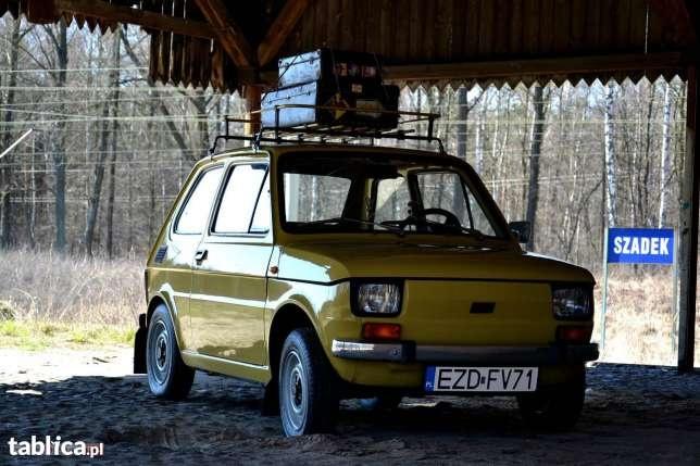 Fiat 126 IKONA POLSKIEJ Motoryzacji 1983 w Zduńskiej Woli - image 1