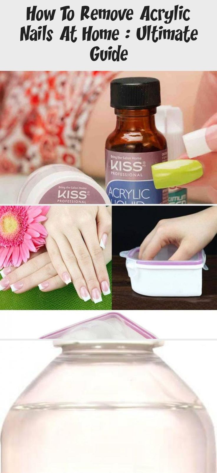 How To Remove Acrylic Nails At Home : Ultimate Guide # ...