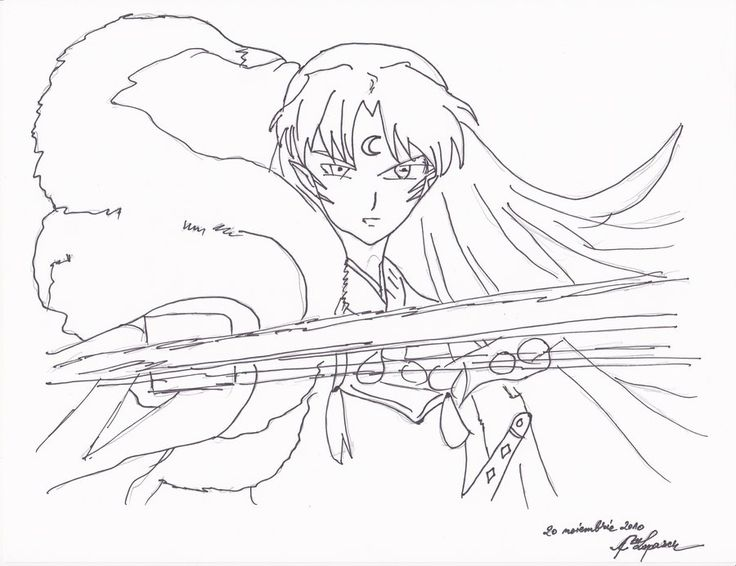 Sesshomaru By Aml2525speed On DeviantArt