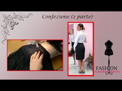 gonna tubino tutorial - Fashion Sartoria - Modellistica