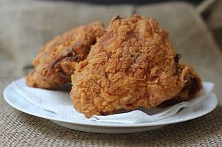 Cookistry: Pressure-Fried Chicken  deep frying using your pressure cooker takes only 10 minutes a batch of thighs!