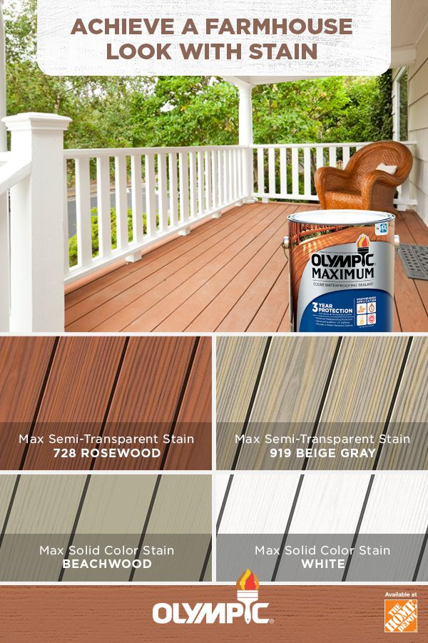 Farmhouse Stain Colors Hoping To Bring A More Natural Look To Your Outdoor Space A Farmhouse Style Might Do The Outdoor Spa Staining Deck Deck Stain Colors
