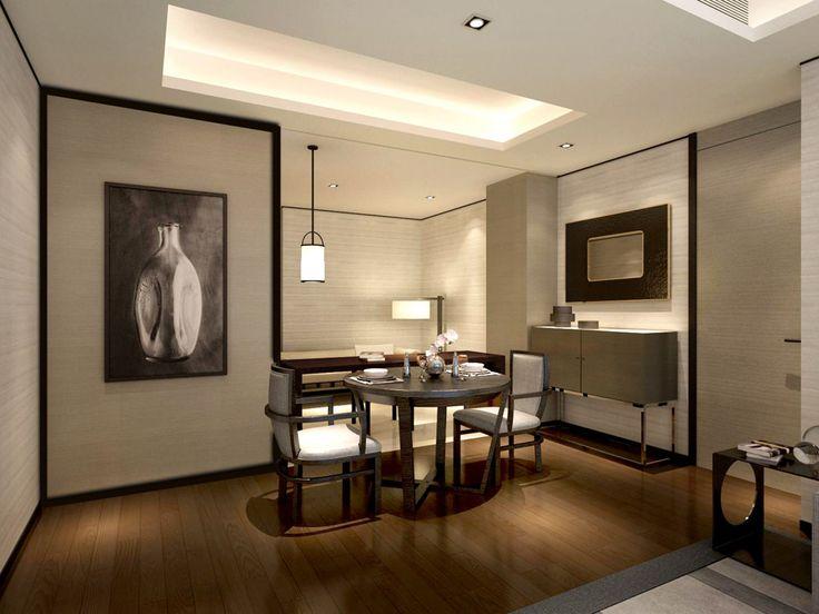 service apartment interior design dining room nook_unit 08