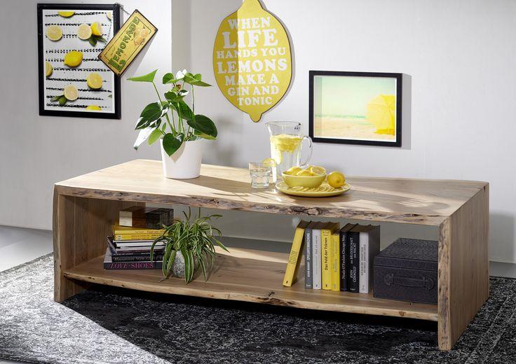 Baumkantenmöbel aus vollmassiver Akazie. Unsere Serie LIVE EDGE bietet individuelle Einzelstücke in natürlichem, stilvollen Design. #möbel #holz #massivholz #echtholz #möbelstücke #couchtische #interior #Einrichtung #wohnzimmer