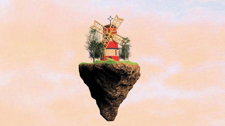 Windmill for the land... by Kruczkowska.deviantart.com on @DeviantArt