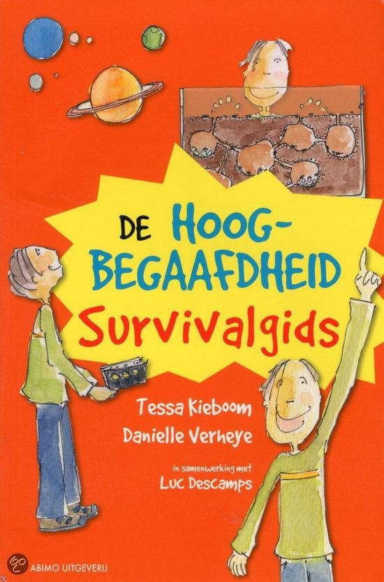 De hoogbegaafdheid survivalgids (jeugdboek). Voor kinderen tussen 9 - 12 jaar.