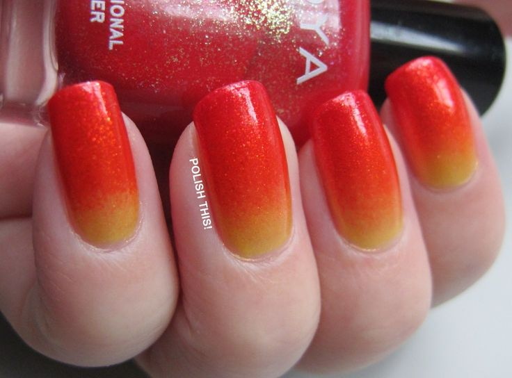 Polish this!: Sunset Gradient