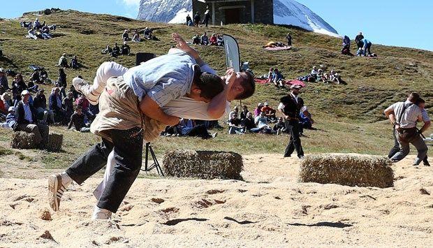 Gulat Alpine, Olahraga Tertua di Swiss