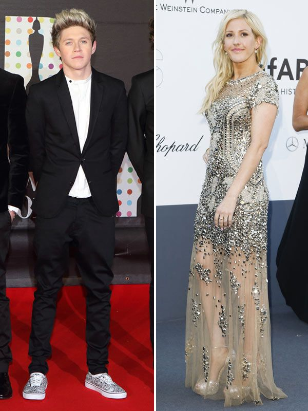 Niall Horan  Ellie Goulding Dating? — Duo Reportedly Spotted Kissing! I'd ship it tbh. Ellie is my role model she is such a sweet and down to earth person. I've been to her concerts too she's over all amazing. As much as I want Nialler for my self, it would be cute as hell to see these two together :-)