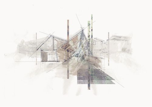 conceptsketch:  Testing and refining a series of propositional 'atmospheric perspectives from my site in Ivybridge, aiming to create a new epicentre with the consequences of stitching the town and its community together. To see the project in its entirety please click here.  Made the cut, yeyeye.