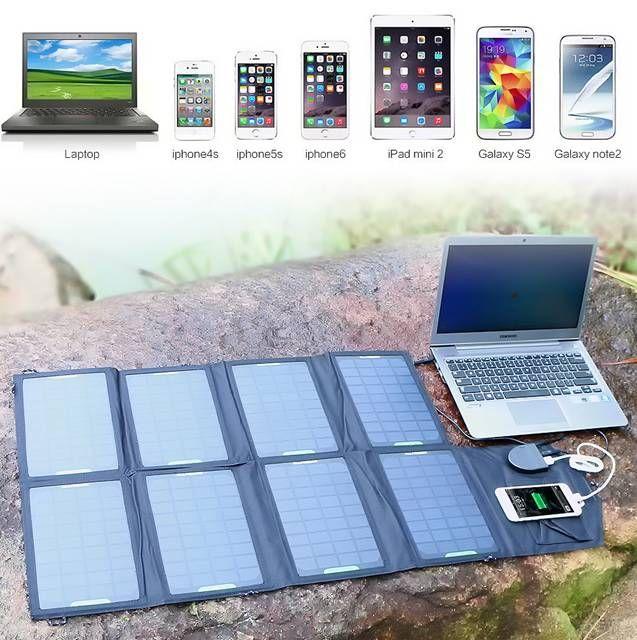3 cargadores solares para dispositivos móviles.  #cargador_solar #solar #dispositivos_móviles #tecnología_móvil #tablet #smartphones #portátiles #powerbank #bateríaexterna