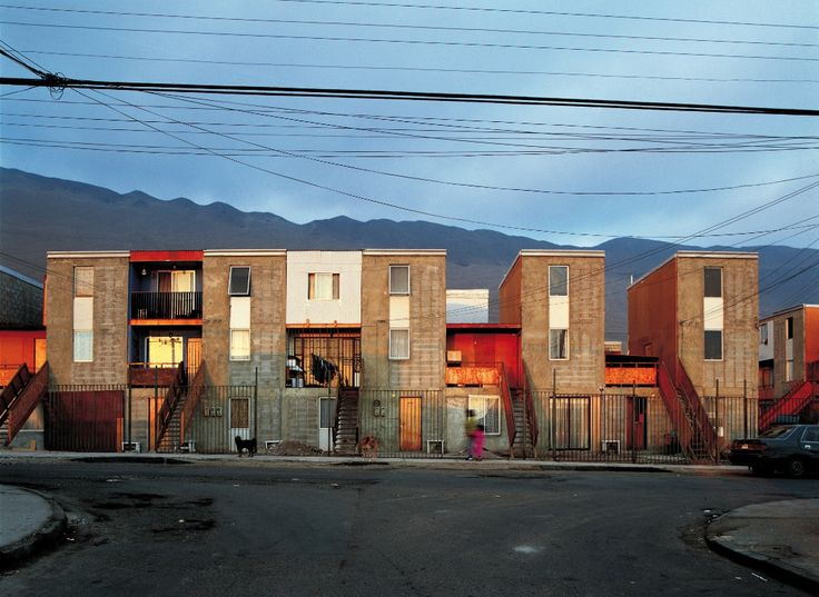 Alejandro Aravena - favelas chili - habitants composent modules d'habitat