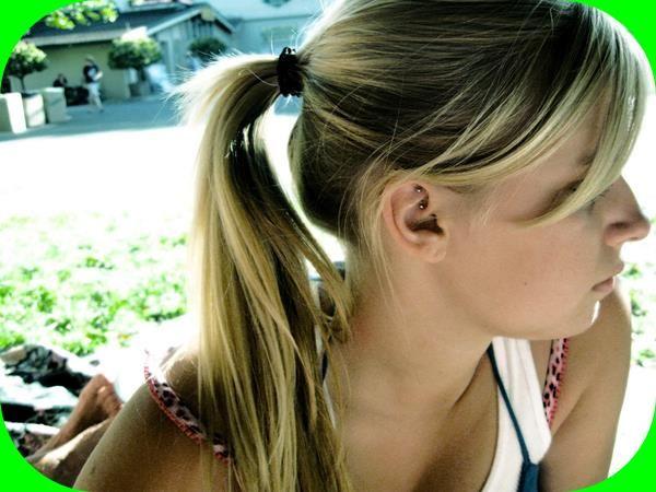 Pompadour Teenage Girl Hairstyles