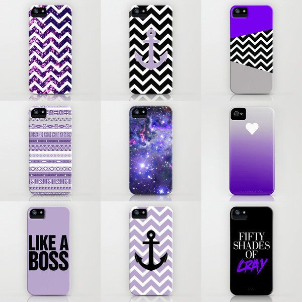 Free Shipping - Purple iPhone Cases by RexLambo ($35)