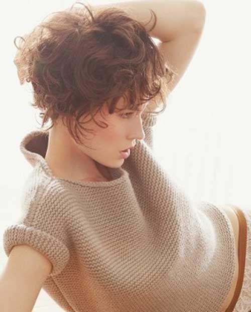 Short Cuts Curly Wavy Hair