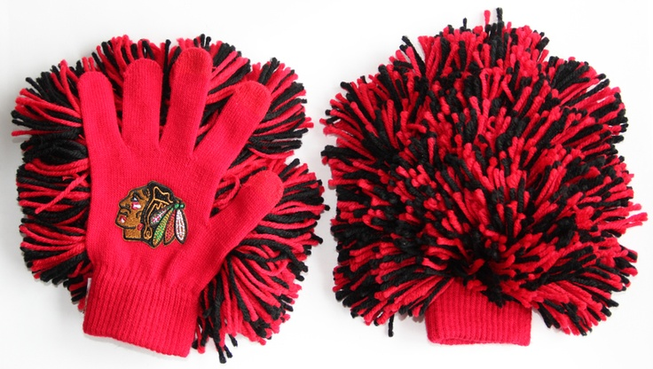 Keep your hands cozy and cheer on the team in these Bubba Glove Fan Hands, available at all three Blackhawks Store locations!