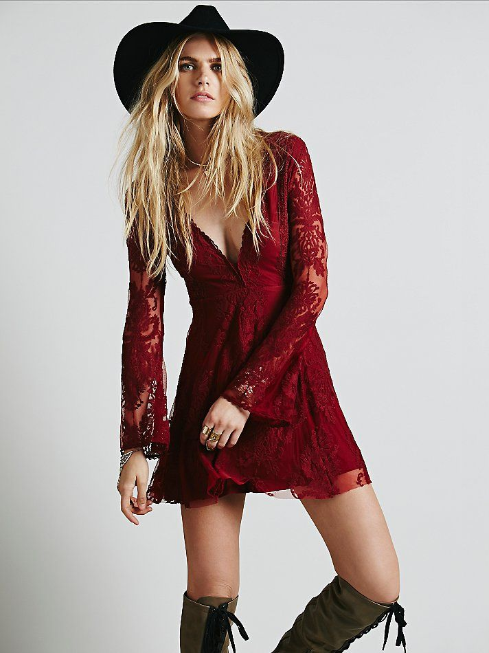 Free People Reign Over Me Lace Dress, $128.00 This dress is like a few of mine combined into one wearable style... and I love it.