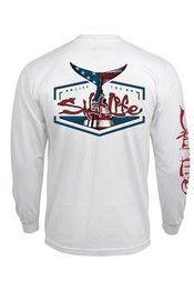 Salt Life® Men's Long Sleeve American Tails T-Shirt Style: SLM10122