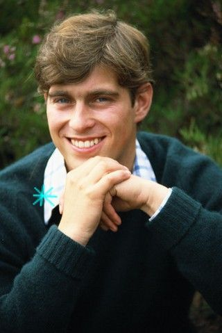 More Prince Andrew - look at those eyes!