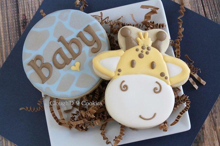 giraffe themed baby shower