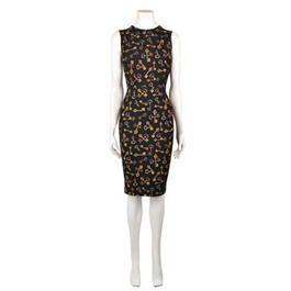 DOLCE AND GABBANA Key Print Dress